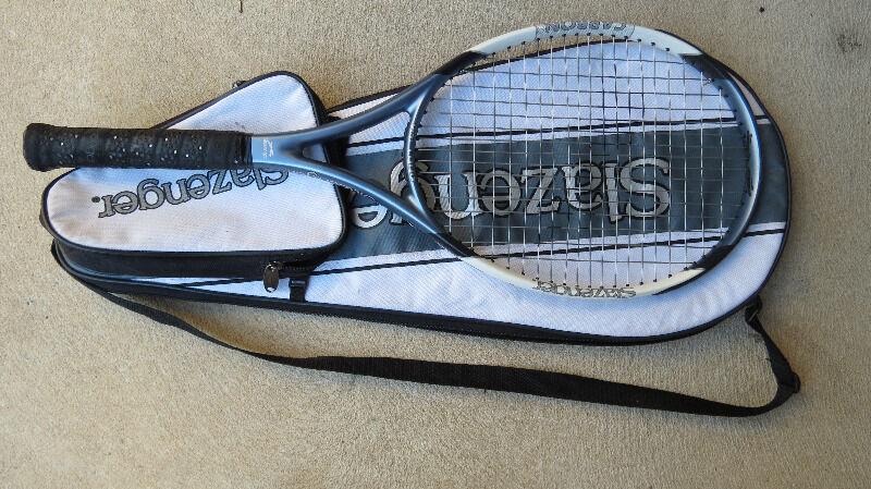 Slazenger Tennis Racquet Bags Slazenger Tennis Racquet And Bag Woodbridge Swan Area Image 1 1 of 1
