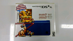 Nintendo DSi XL - Midnight Blue + Case