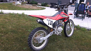 2003 Honda CRF230F BLUE PLATED for sale July 23rd