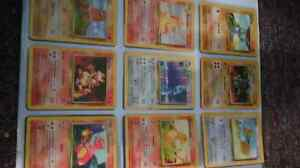 Selling over 140+ pokemon cards, with 2 holo's!