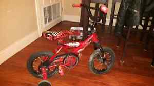 Lightening McQueen huffy bike & Helmet  Stratford Kitchener Area image 2