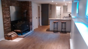 RENOVATED luxury 2 bedroom with River