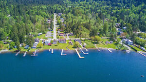 RENOVATED RANCHER @ THE LAKE, MTN VIEWS + ACESS TO WATERFRONT