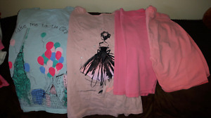Girls summer clothes size 10-12