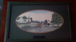 4 Catherine Karnes Munn framed prints - all 4 as a lot for $30.