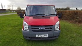 Transit van t260 tdci low millage 80k