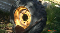 case 1845 skid steer tire