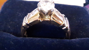 Engagement ring  New lower price..Value $11,895.00