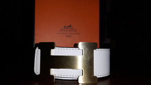 GUCCI , LUIS VUITTON AND HERMES BELTS
