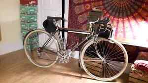 Vintage road bike touring
