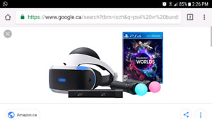 Looking for ps4 VR