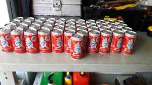 1992 coke cans Bluejays world series.