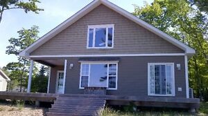 Waterfront Cottage For Rent on Grand Lake