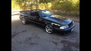 89 mustang, flawless, low km, oem saleen, and much more