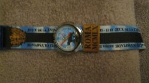 Two Olympic Swatch swiss watches New,need batterys!