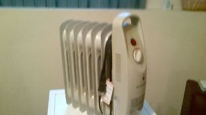 Small oil heater