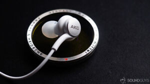 Brand new in box AKG headphones (came with Samsung S10)
