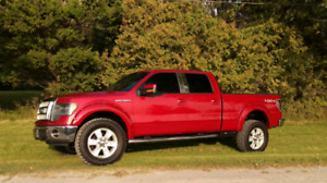 2009 F150 Lariat 4x4 Super Crew regular box