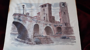 H. Gilbert Foote original limited edition lithograph print.