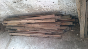 """Roughly 200 Sq.Ft. Of 1"""" x 3 1/2"""" Solid Oak Tongue and Groove"""