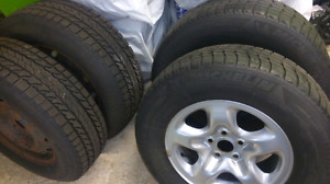 Winter tires 225-70-R16