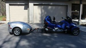 2012 CAN-AM SPYDER RT SE5 with TRAILER (Price reduced)