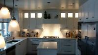 Ébéniste, cuisines, plancher, resurfaçage de cuisines...