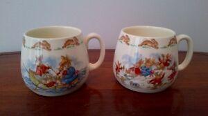 2 Bunnykins Mugs for $10 each