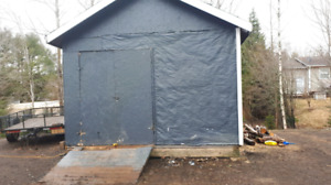 12x18 shed sliding included