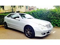 Mercedes-Benz C Class 2.1 C200 CDI Auto Leather Pack Long Mot low milage P.x Welcome