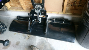 Click and go plow 4' and mounting  plate