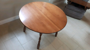 Solid Wood Maple Table