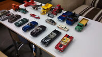 Vintage diecast cars and trucks