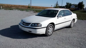 2005 CHEV IMPALA CERTIFIED NO RUST ONLY 73000 KLMS