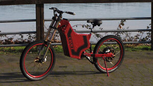 Ultimate E-Bike! SUPER Electric Mountain Bike- $75 Bi-Weekly