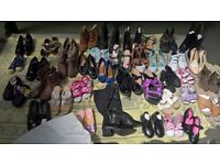 Job Lot Mixed Ladies and Kids shoes/ trainers
