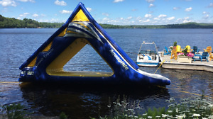 Aquaglide Summit Express Inflatable Waterpark