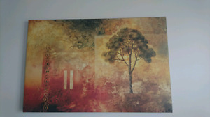 Large picture matted