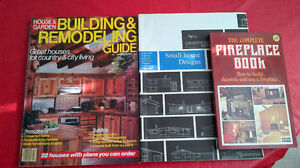 Small House Designs, Fireplaces, Building & Remodeling Books