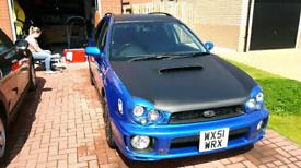 """Subaru impreza WRX registration plate """"WX51 WRX"""""""