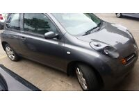 Nissan Micra New MOT, 1.2 manual only £650