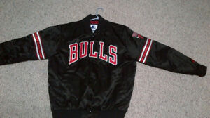 Bulls, Warriors, Brewers and Raiders jackets....great condition