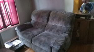 blue lazyboy couch for salew