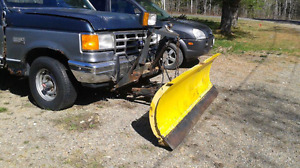 Truck and plow for sale