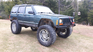 2001 cherokee woods buggy with papers