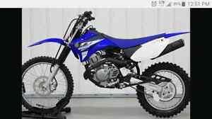 Wanted 125 cc 4 stoke dirt bike.