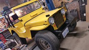 1951 Willys CJ3a Jeep