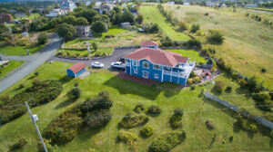 Executive style home with ocean view and access