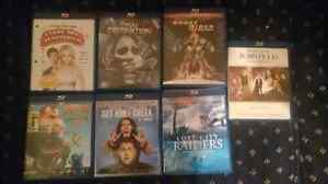 New opened blue ray movies, Great Collection