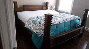 Hand-made King Bed (SOLD)